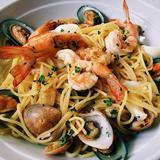 Spaghetti Seafood Olio