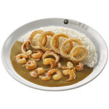 Fried Squid & Stewed Shrimp Curry