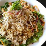 Chop Noodles Salad with Miso Dressing