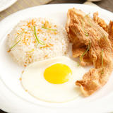 Bagnet Chips with Rice