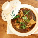 Pork Belly with Salted Fish in Casserole